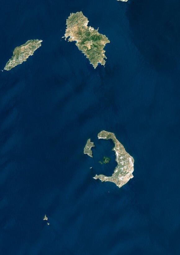 Santorini sala, Graikija