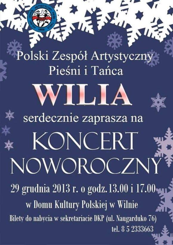 "Koncert noworoczny ""Wilii"""