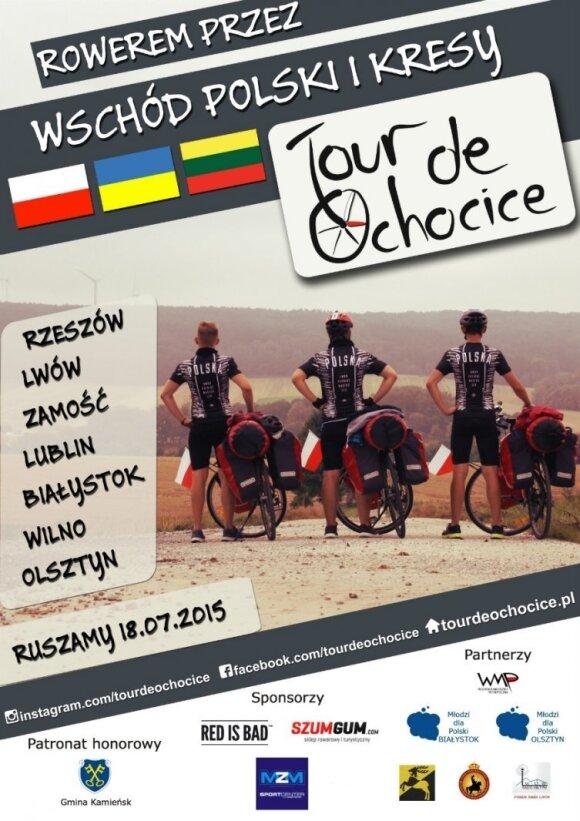 Przez wschód Polski i Kresy. Źródło: tourdeochocice.pl