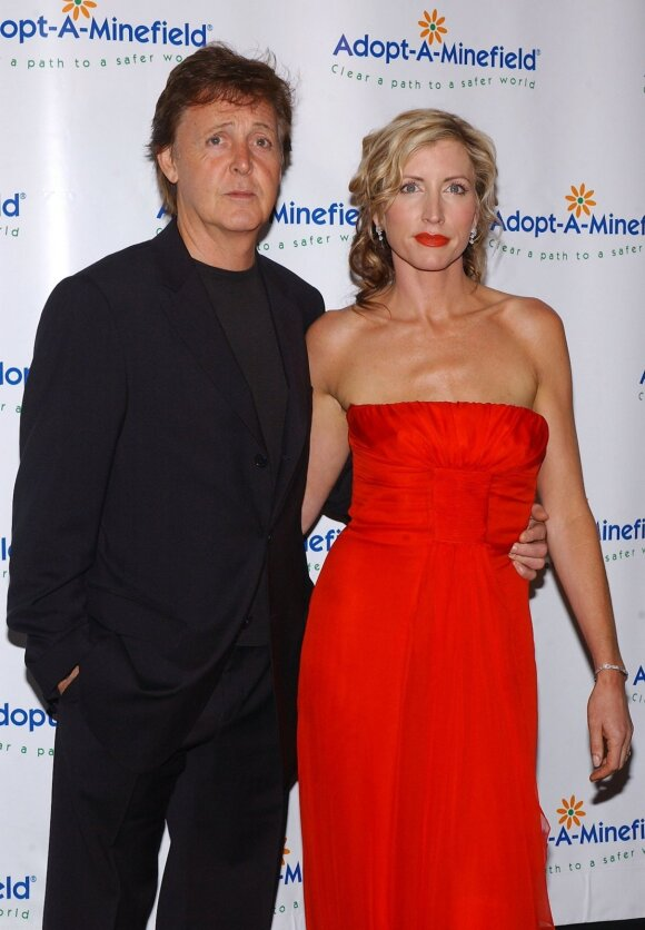 Paulas McCartney ir Heather Mills