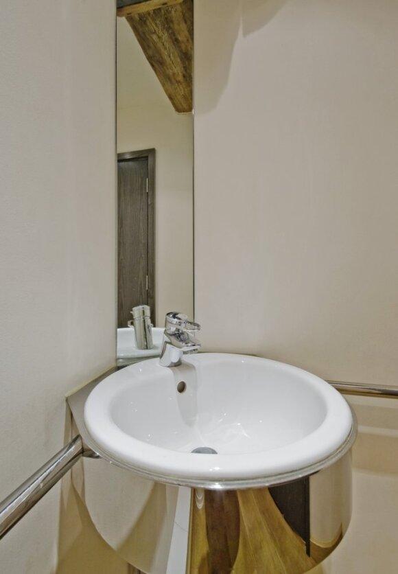 Stilingos idėjos nedideliam vonios kambariui