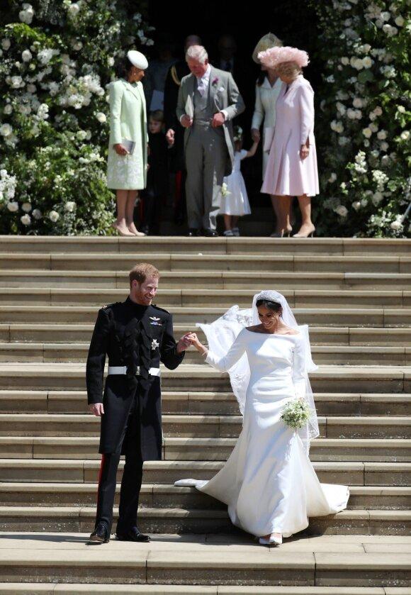 Meghan Markle ir princo Harry vestuvių svečiai