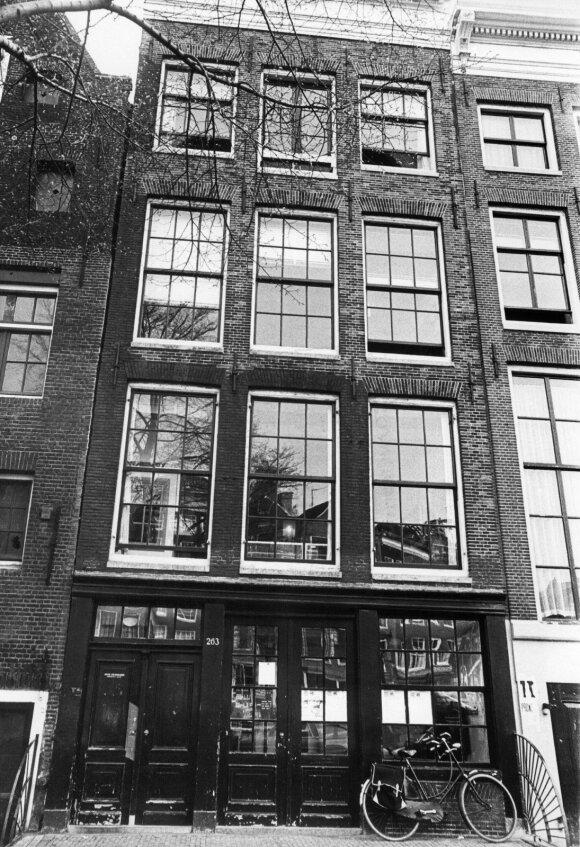 Namas, kuriame gyveno Anne Frank