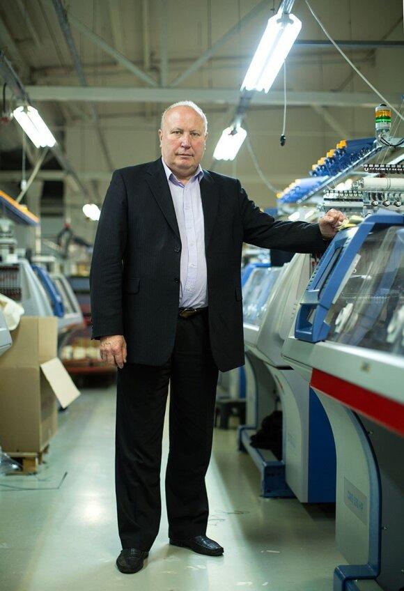 """Garlita"" direktorius Juozas Martikaitis"