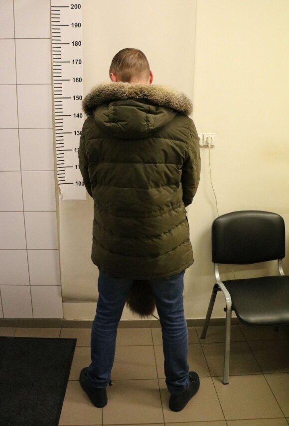 Mindaugas Mažeika, pravarde Asilas, policijos komisariate