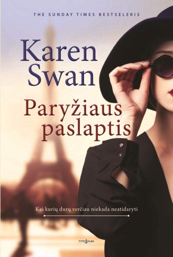 """""""Paryžiaus paslapties"""" autorė K. Swan: tokios istorijos negalima nutylėti"""