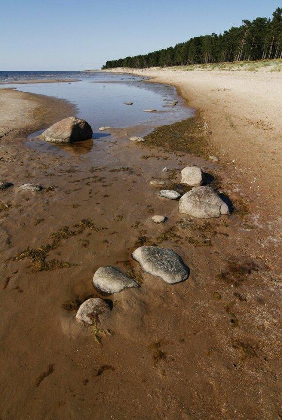 """Sala, kur """"dainuoja"""" smėlis"""