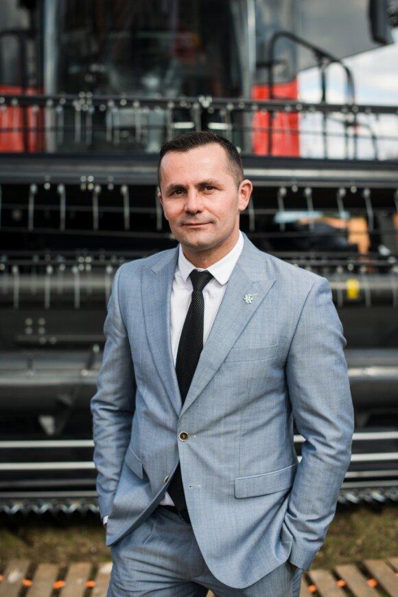 """Gediminas Kvietkauskas, bendrovės """"East West Agro"""" (EWA) generalinis direktorius"""