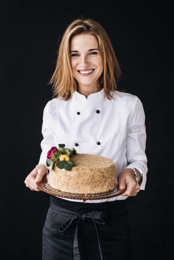 Napoleono tortų kepėja Rūta Repšienė