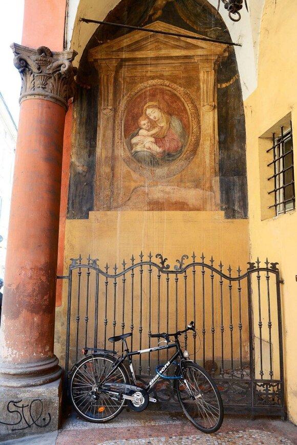 Apžiūrėti miestą patogiausia važiuojant dviračiu