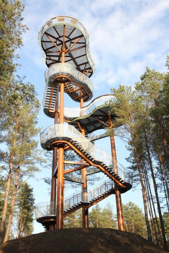 Apžvalgos bokštas Dzūkijos nacionaliniame parke