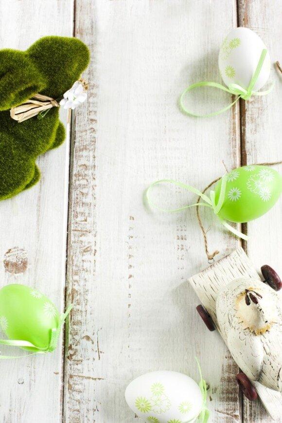 Paskutiniai velykinio dekoro štrichai: atraskite greitai įgyvendinamą idėją