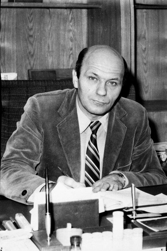 Vladimiras Pasečnikas, Leningrado ypač grynų biologinių preparatų instituto direktorius, 1989 m. pabėgo į Britaniją ir atskleidė tikrą sovietų biologinių ginklų programos mastą ir tikslus. // Raymondo Zilinsko nuotr., Monterėjaus institutas.