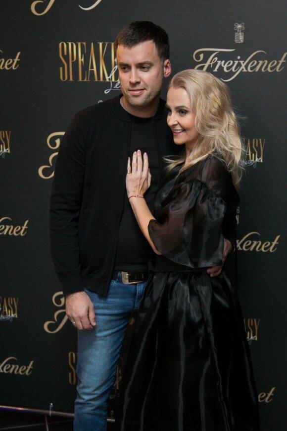 Lina Brazinskaitė-Tupikovskienė su vyru Ričardu