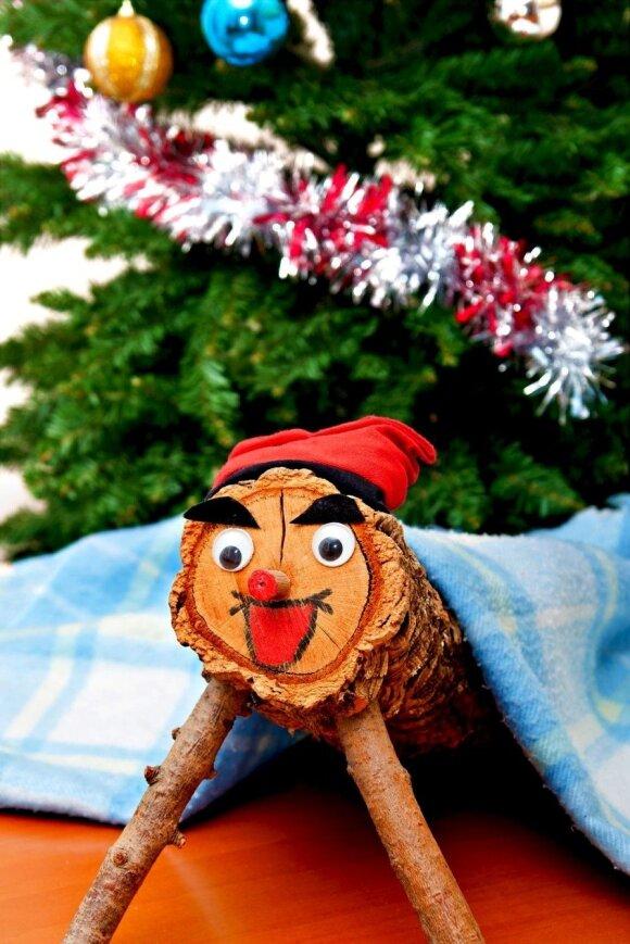 Tradiciniai kalėdiniai Caga Tio – žmogeliukai-medinukai Ispanijoje