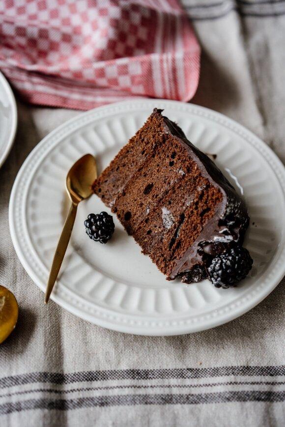 Zacherio šokoladinis tortas