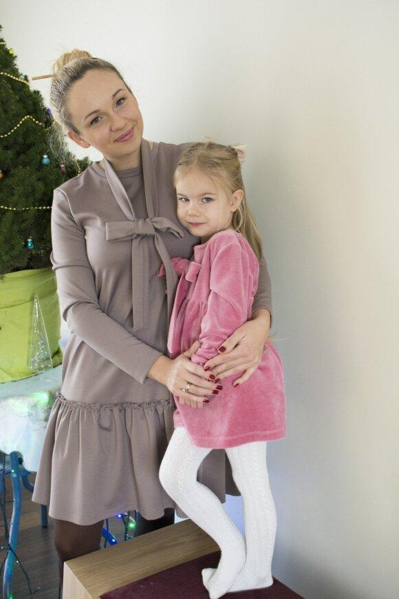 Drabužius mergaitėms ir mamoms kurianti kaunietė Kristina: kuo daugiau veiklos turi, tuo daugiau visko spėji padaryti