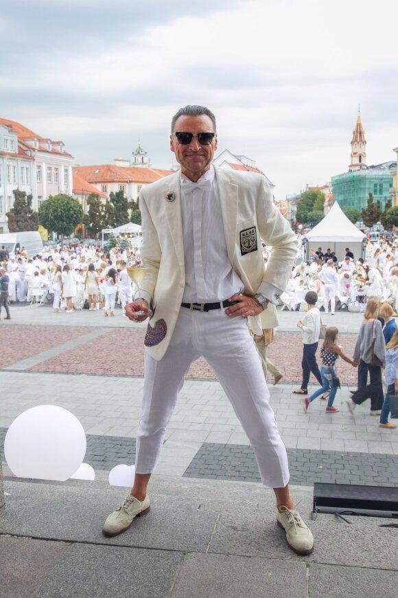 Vakarienė baltai (Le Dîner en Blanc) Vilniuje 2018