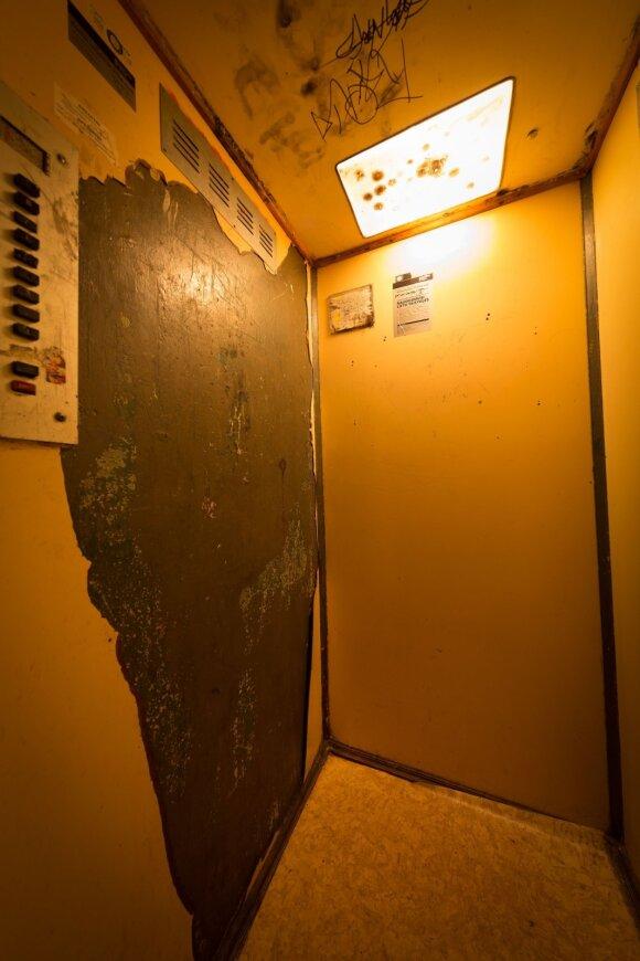Tragiški Vilniaus liftai