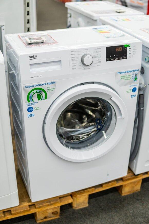 """""""Beko"""" skalbimo mašina"""