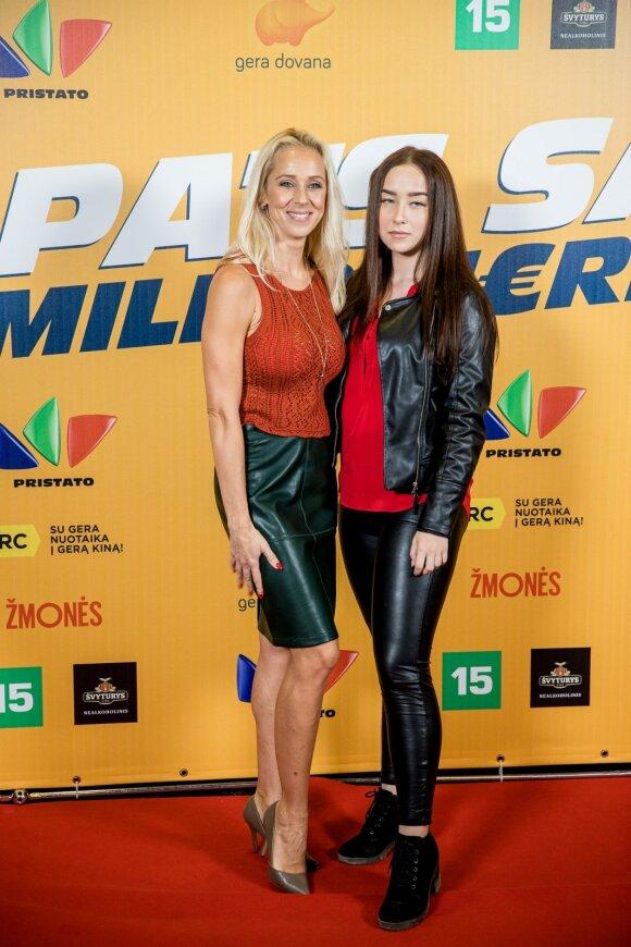 Ineta Stasiulytė su dukra