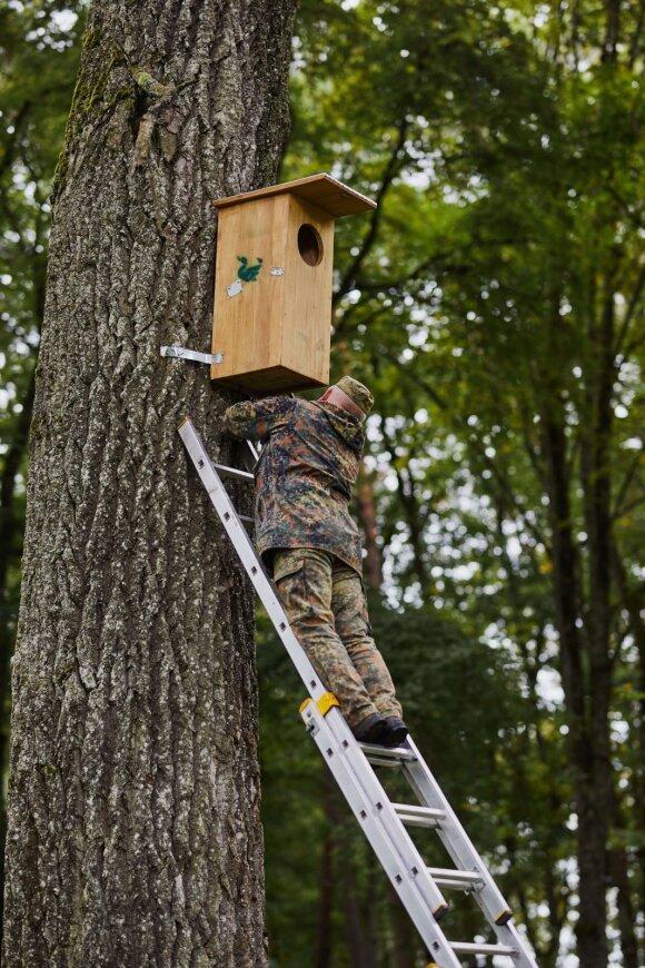Graži iniciatyva jungia atsakingą verslą ir Lietuvos paukščių mylėtojus