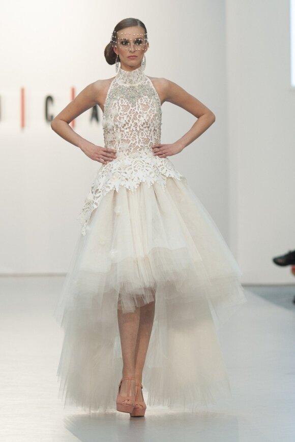 Vestuvinių suknelių pristatymas Madride, Juan Carlos Armas