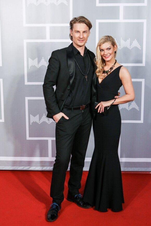 Justinas Lapatinskas su žmona