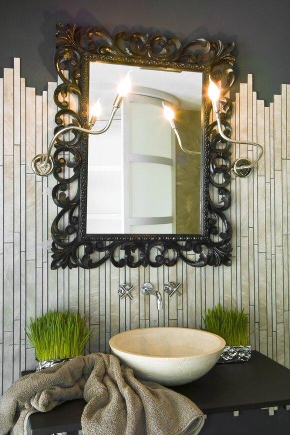 Idėjos, kaip išradingai pritaikyti veidrodžius namuose