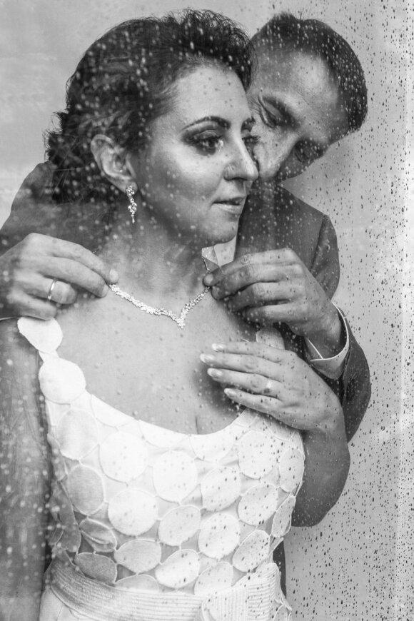 Rūta  Morozovienė su vyru Andrejumi