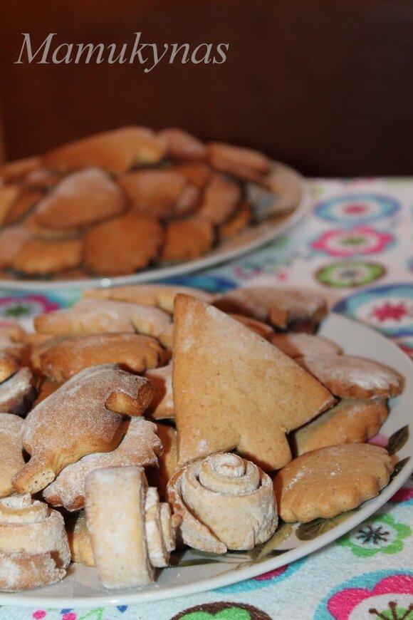 Kalėdiniai meduoliai, be kurių šventės neįsivaizduojamos