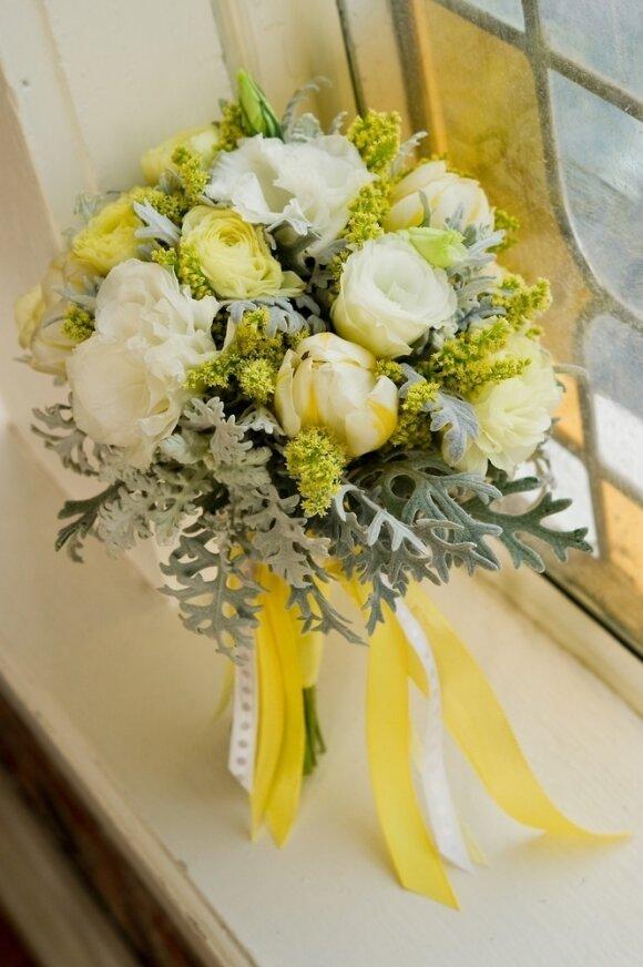 Весенние идеи для букета невесты