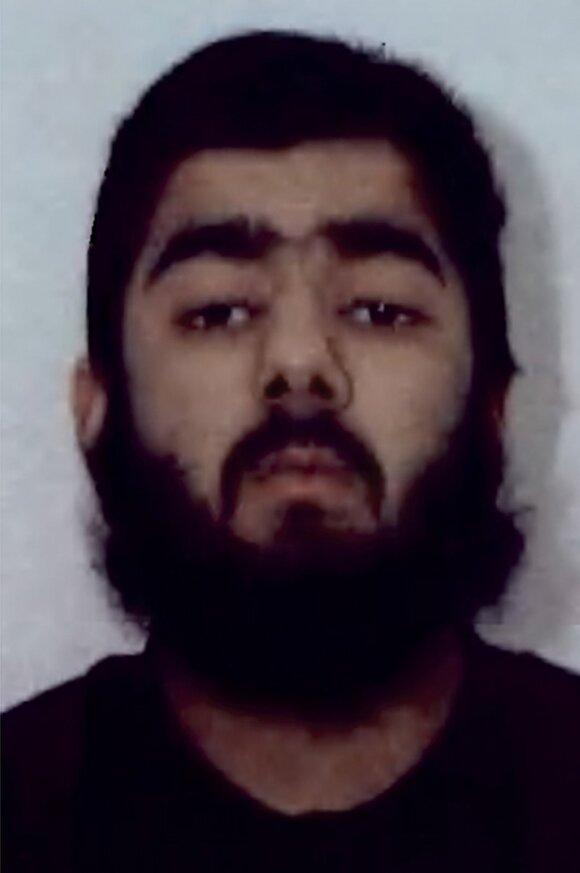 Išpuolį Londone įvykdęs Usmanas Khanas