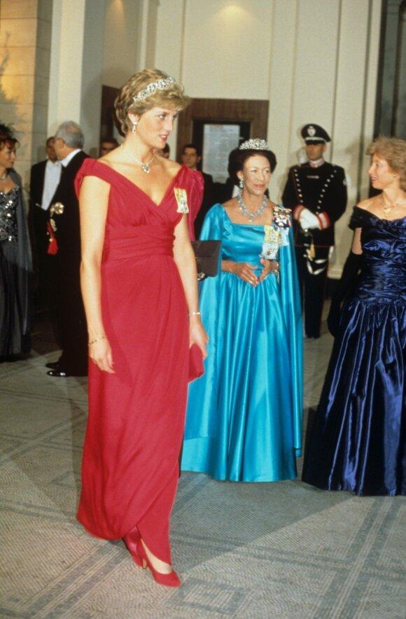 Princesė Diana, princesė Margaret