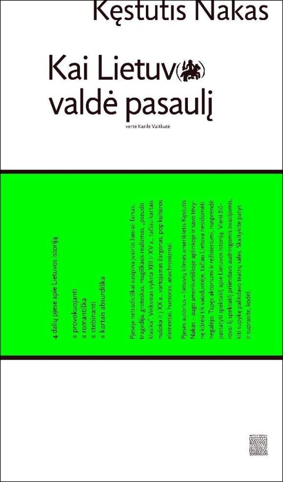 K. Nako knygos viršelis