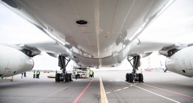 Vilniuje nusileido vienas didžiausių orlaivių