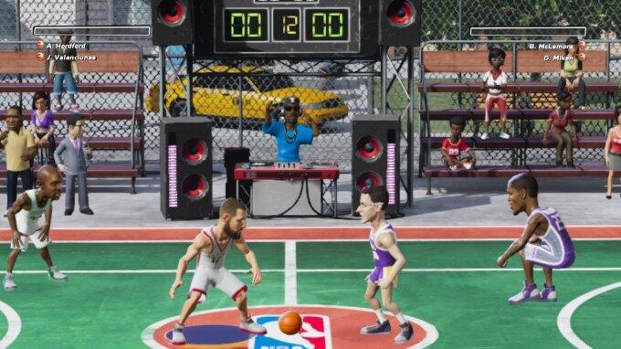 Jonas Valančiūnas NBA Playgrounds žaidime