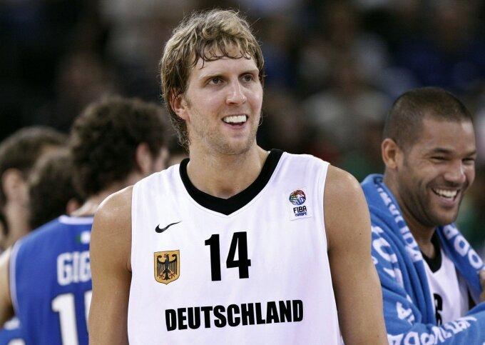 Dirkas Nowitzki Vokietijos rinktinėje 2007-ais metais