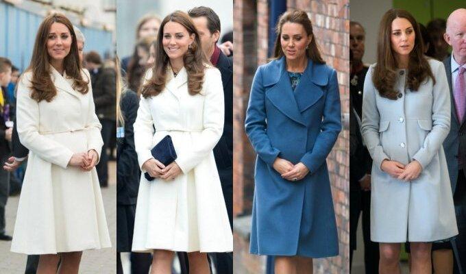 Kate Middleton diktuoja pavasario paltų tendencijas FOTO