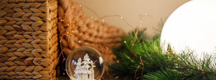 51 kv.m butas Vilniuje: įkvepianti kalėdinė nuotaika skandinaviškame interjere