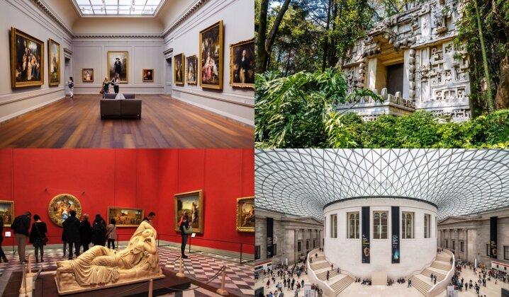 Nuo Londono iki Seulo: 12 garsių muziejų siūlo virtualias keliones