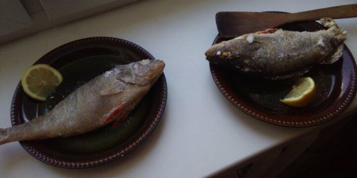 Netradiciškai paruošta žuvis