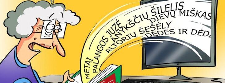 Lietuvių klasikos kūrinius galima rasti internete