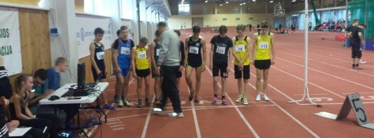 Daugėlių mokyklos sportininkai varžėsi dėl rajono lengvosios atletikos taurės