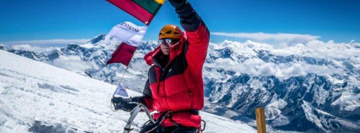 Alpinistas S. Damulevičius šturmuos Everesto kaimyną Makalu