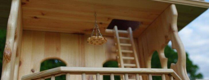 Pasidaryk pats: lėlių namelis