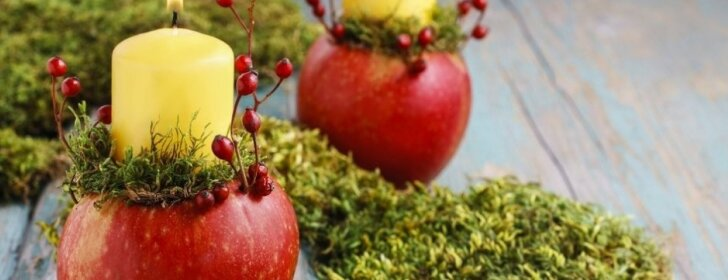 """<span style=""""color: #ff0000;"""">Pasidaryk pats:</span> rudeniška žvakė obuolyje"""
