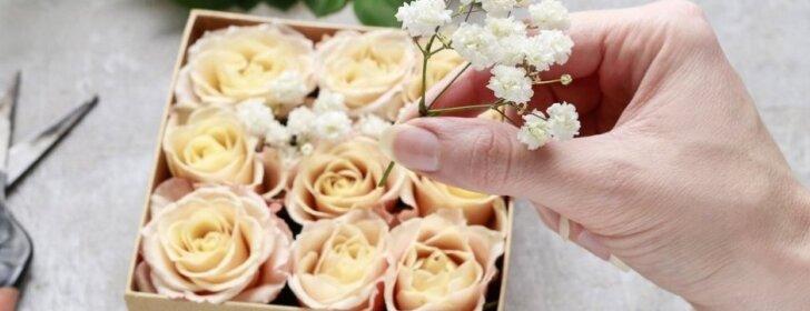 Pasidaryk pats: rožių dėžutė