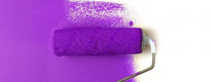 Medžiaginis volelis padės originaliai nudažyti sienas