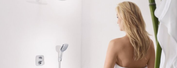 Kaip nukalkinti maišytuvus ir dušo galvutes?